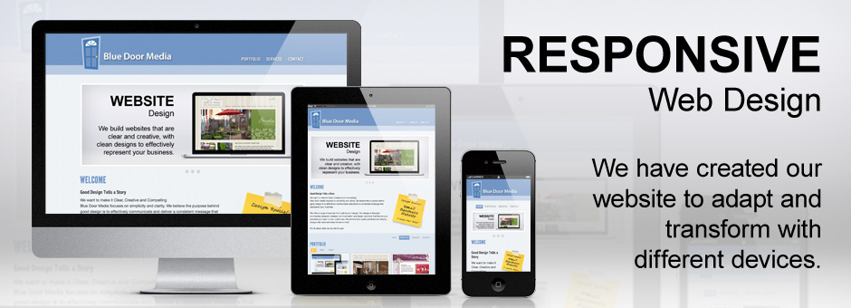 Blue Door Media HTML5 Responsive Website