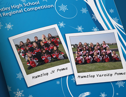 Huntley High School Poms Dance Team Program