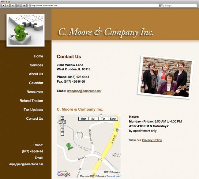 C. Moore & Company Contact