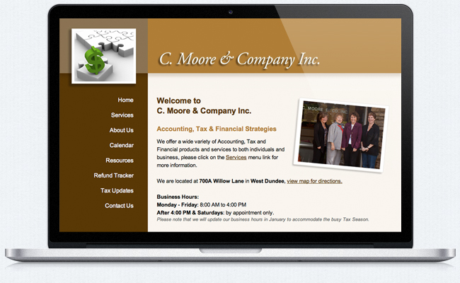 C. Moore & Company Welcome