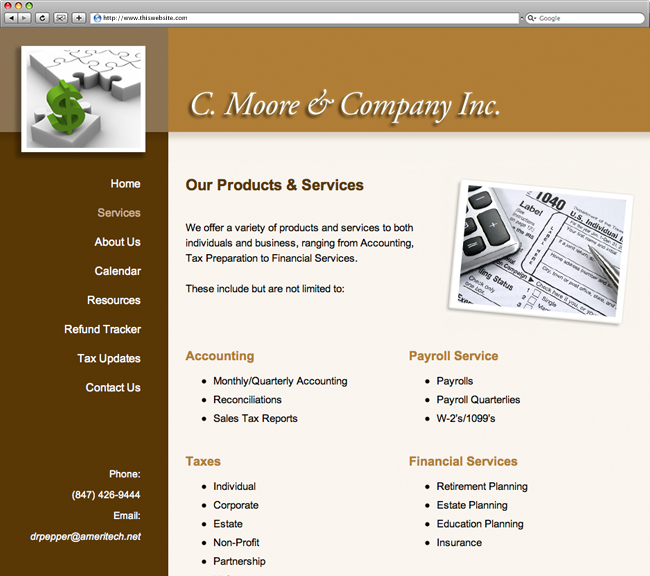 C. Moore & Company Services